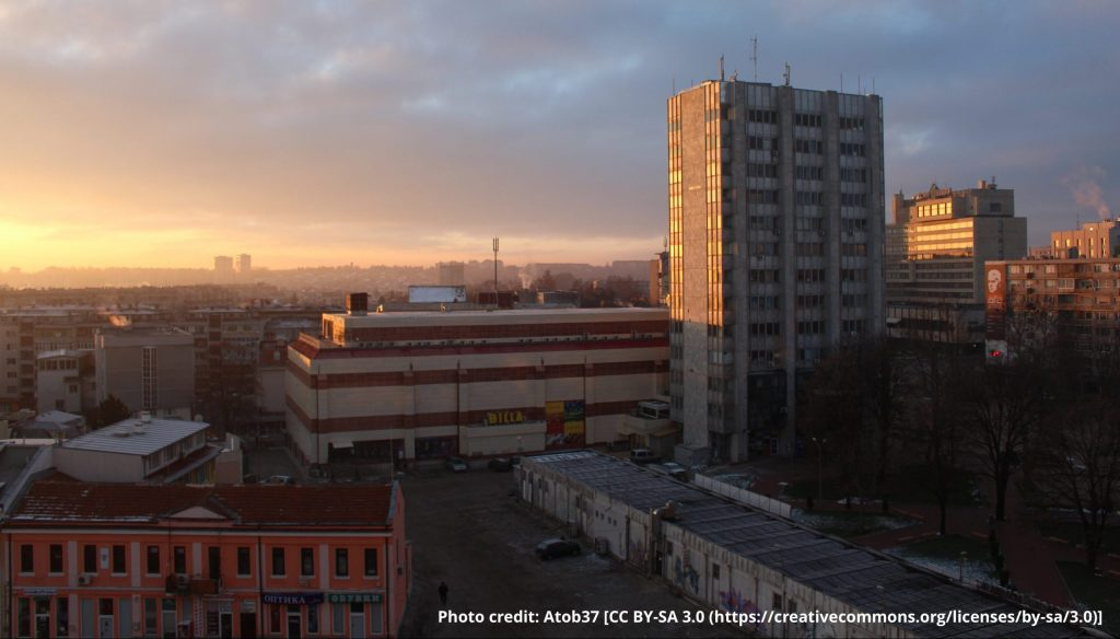 Dobrich_Sunrise,_Winter_2014